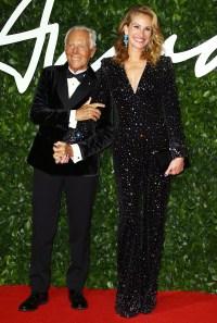 British Fashion Awards Best Dressed - Julia Roberts
