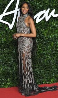British Fashion Awards Best Dressed - Naomi Campbell