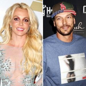 Britney Spears Kevin Federline custody cordial