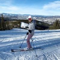 Candice King Instagram Celebrity Snowbunnies