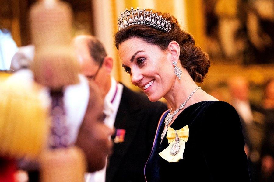 Catherine Duchess of Cambridge Kate Diplomatic Reception