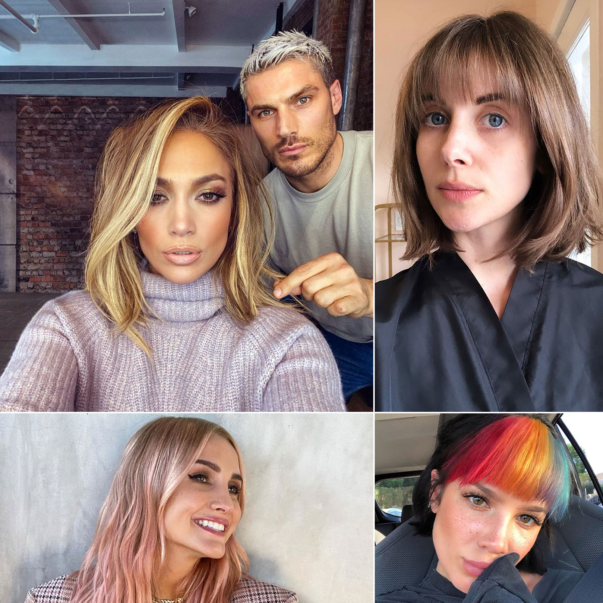 Celebrity Hair Changes of 5: New Haircuts, Hair Color, Extensions