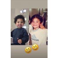 Celeb Look-Alike Kids Kylie Jenner and Stormi Webster