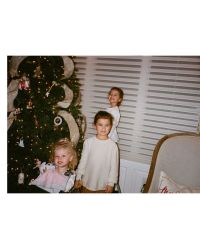 Celebrities Picking and Decorating Christmas Trees With Their Kids Kevin Jonas and Danielle Jonas