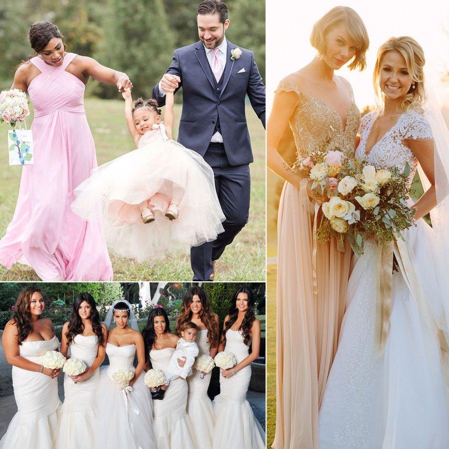 Celebrities Who Have Been Bridesmaids