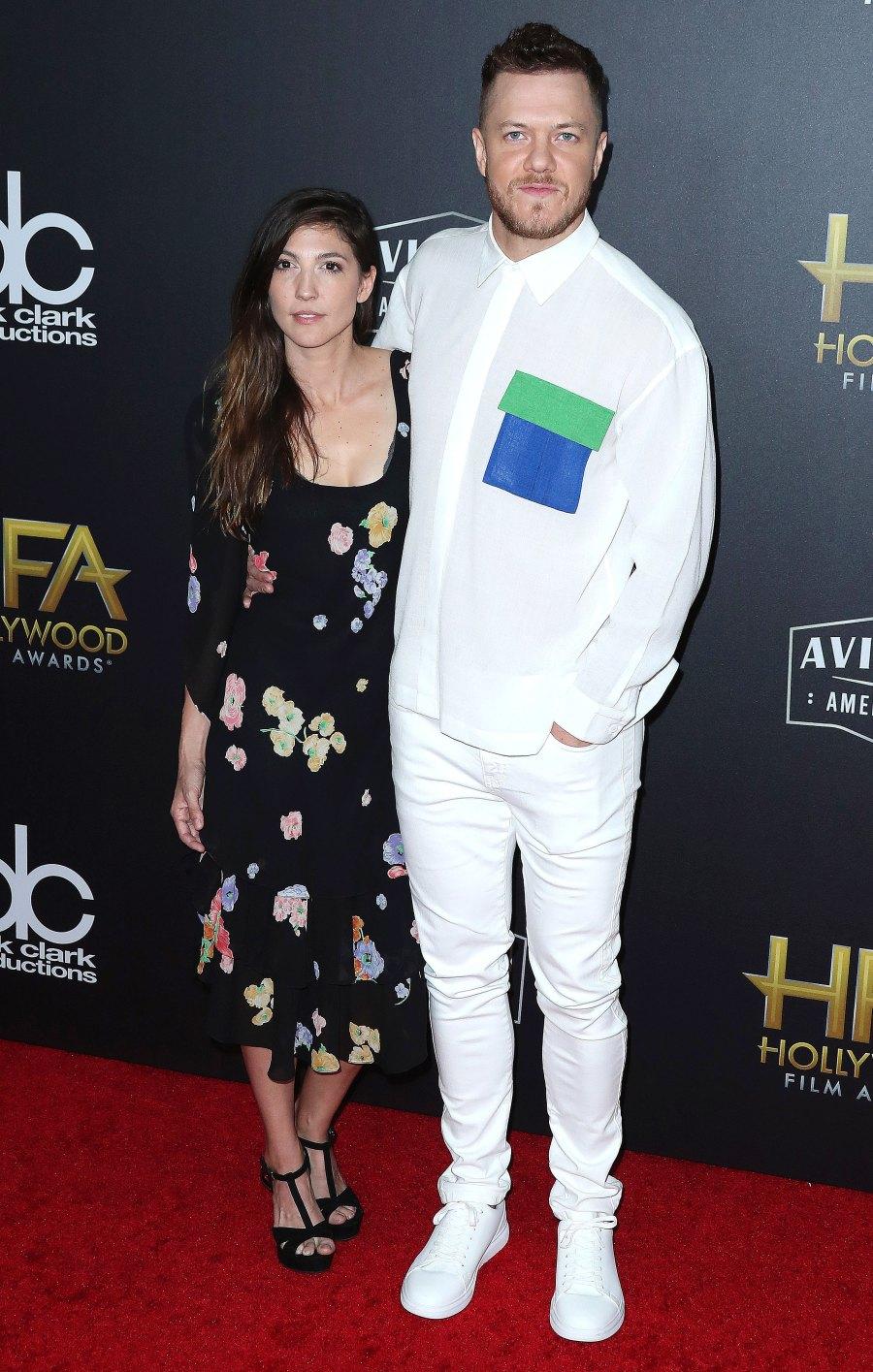 Celebrity Engagements 2019 Dan Reynolds and Aja Volkman
