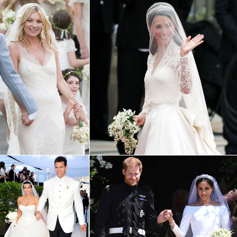 Celebrity Wedding Dresses: Best of Decade