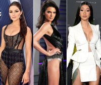 Celebs In Nearly Naked Outfits