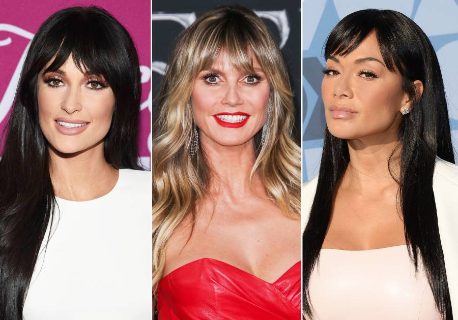 Celebs With Bangs