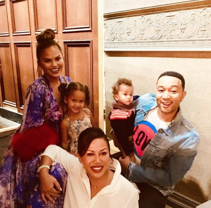 Chrissy Teigen Thinks Her and John Legend's Kids Luna and Miles Are 'the Perfect Age'