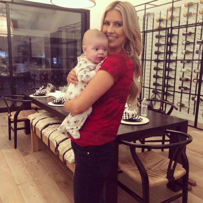 Christina Anstead Is 'Definitely Done' Having Kids After Son Hudson's Birth
