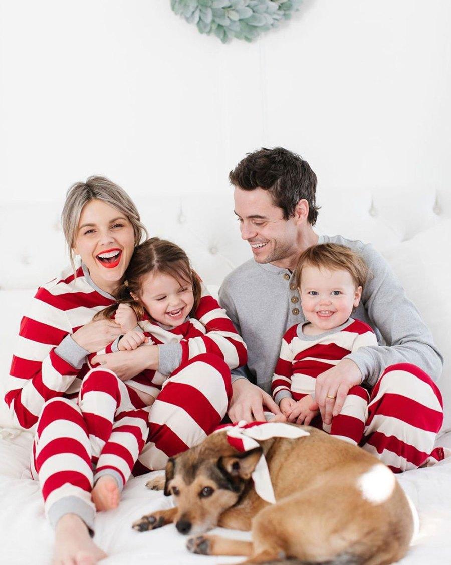 Christmas Pajamas - Molly and Riley Manno