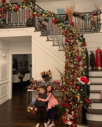 Celebrities Picking and Decorating Christmas Trees With Their Kids