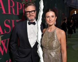 Colin Firth and Livia Giuggioli Split
