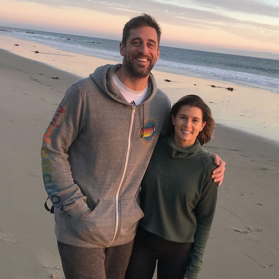 Danica Patrick Wishes 'Uber Attractive Man' Aaron Rodgers Happy Birthday