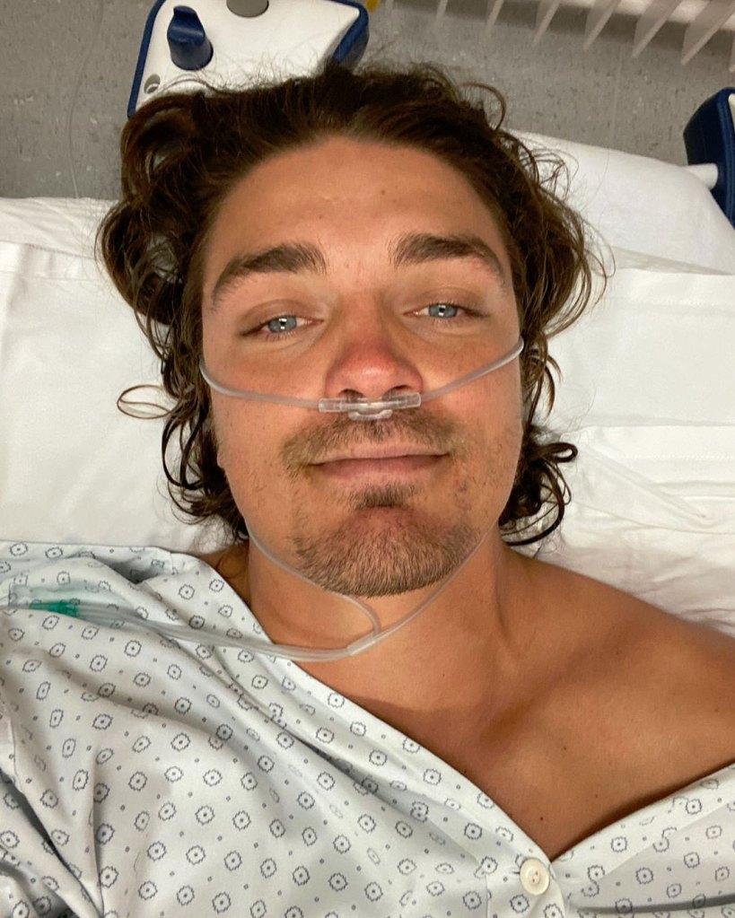 Dean Unglert Hurt Skiing