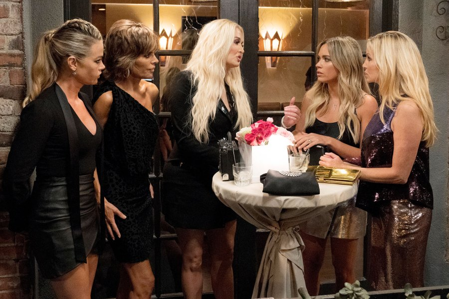 Real Housewives of Beverly Hills Denise Richards, Lisa Rinna, Erika Girardi, Teddi Mellencamp Arroyave, Camille Grammer