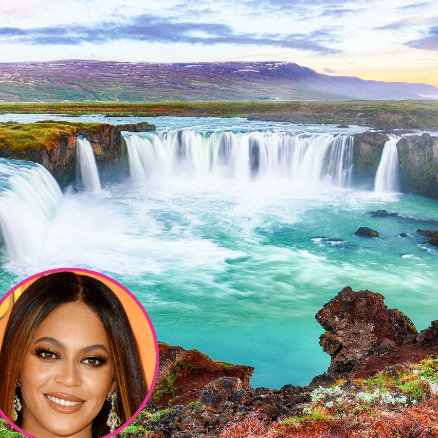 9 Breathtaking Destinations Celebrities Go to for Vacation