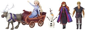 Disney Frozen Sledding Adventures Doll Pack