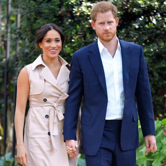 Duchess Meghan and Prince Harry File Trademark For 'Sussex Royal'