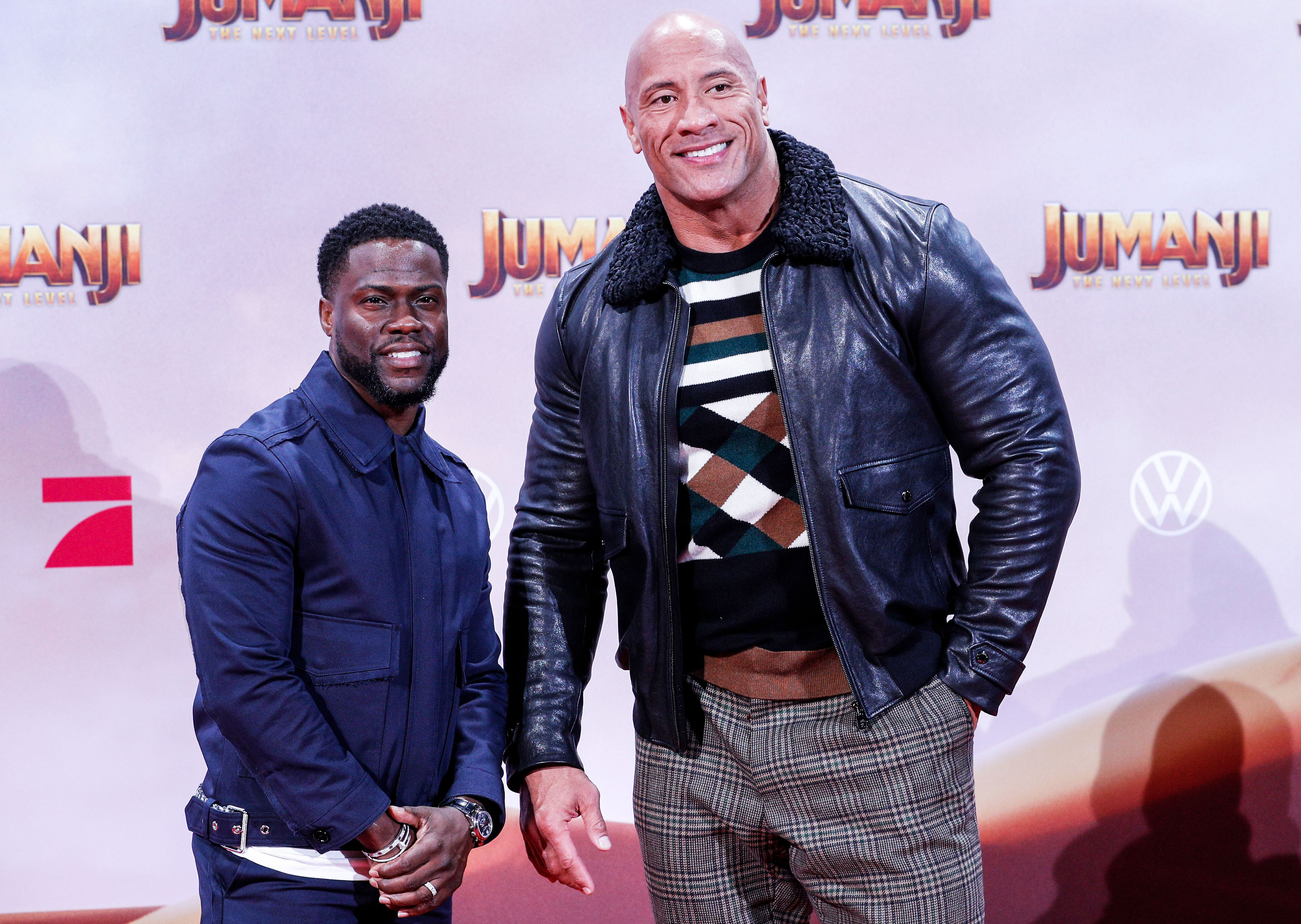 Dwayne Johnson S Heart Stopped After Kevin Hart S Accident