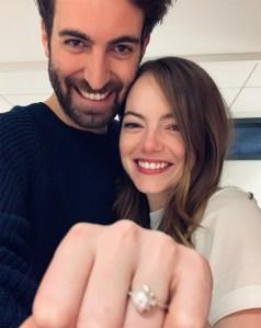 Emma Stone Engagement Ring