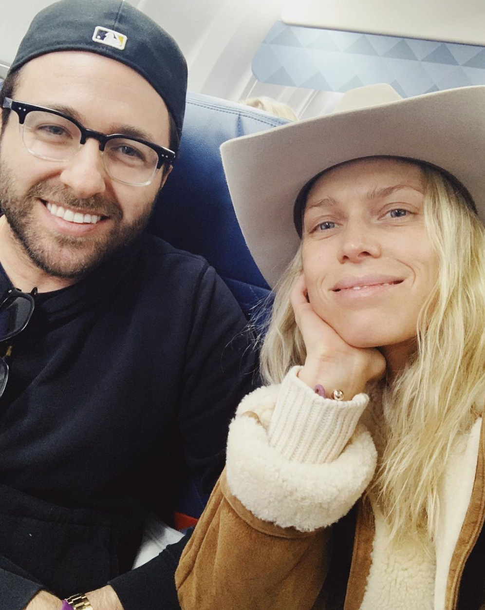 Erin Foster and Fiance Simon Tikhman Travel to Nashville Ahead of Wedding
