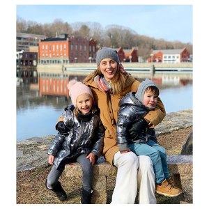 Pregnant Eva Amurri Martino and Kyle Martino Celebrate Christmas With Kids Amid Divorce
