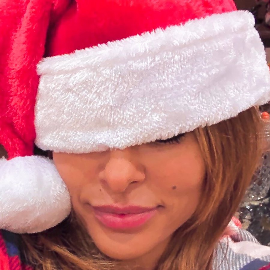 Eva Mendes Is Tired Getting Ready for Christmas With Her and Ryan Goslings Daughters