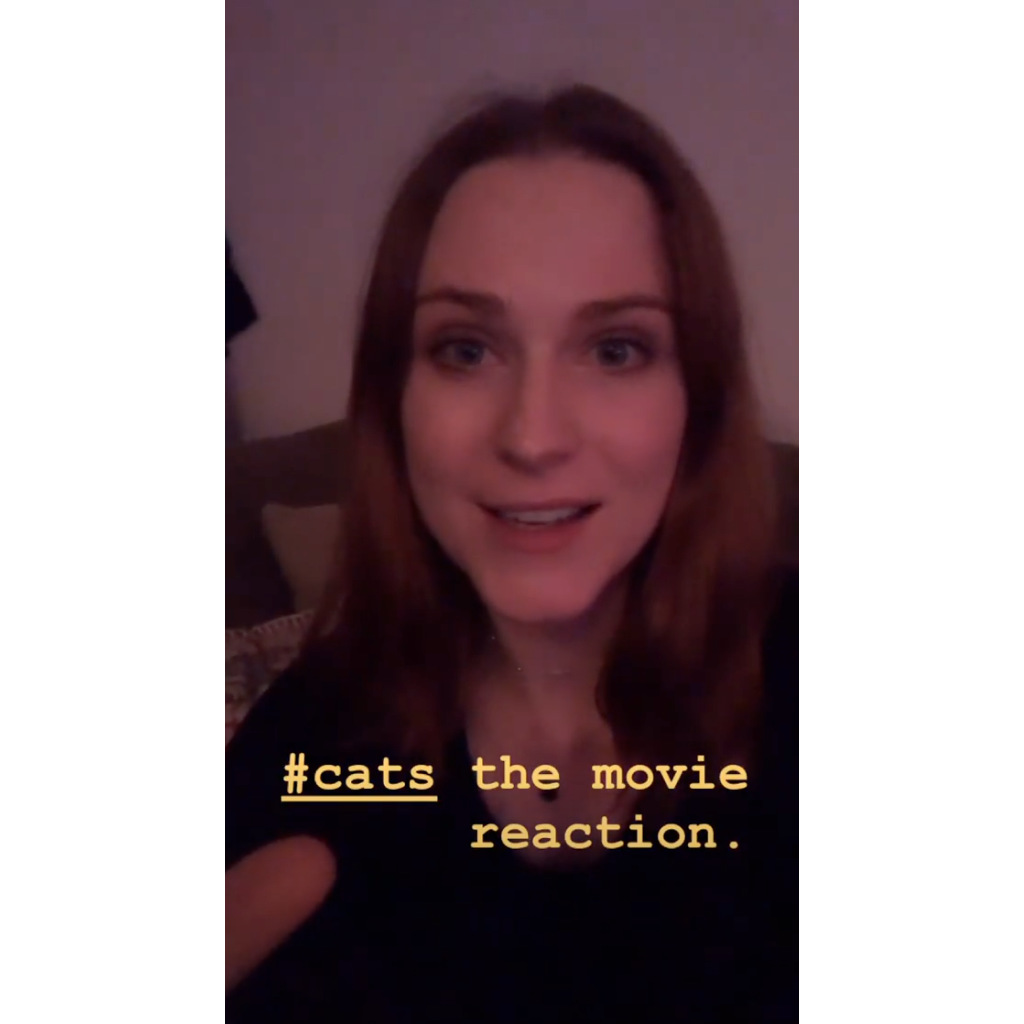 Evan Rachel Wood Gives Honest, Expletive-Filled Review of 'Cats': 'Maybe the Worst Thing I Have Ever Seen'