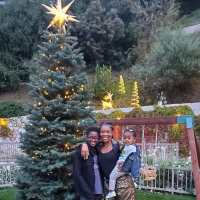 Gabrielle Union Celebrities Picking and Decorating Christmas Trees With Their Kids