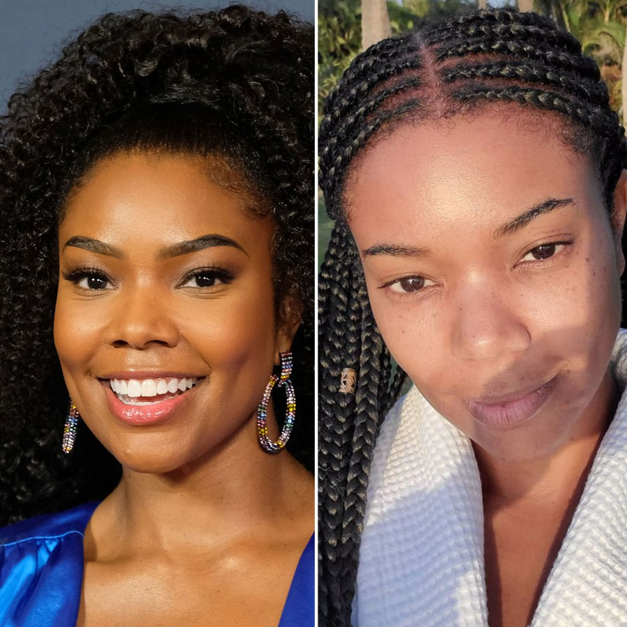 Gabrielle Union Looks Totally Flawless Without Makeup