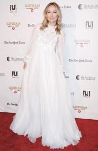 Gotham Film Awards Red Carpet - Olivia Wilde