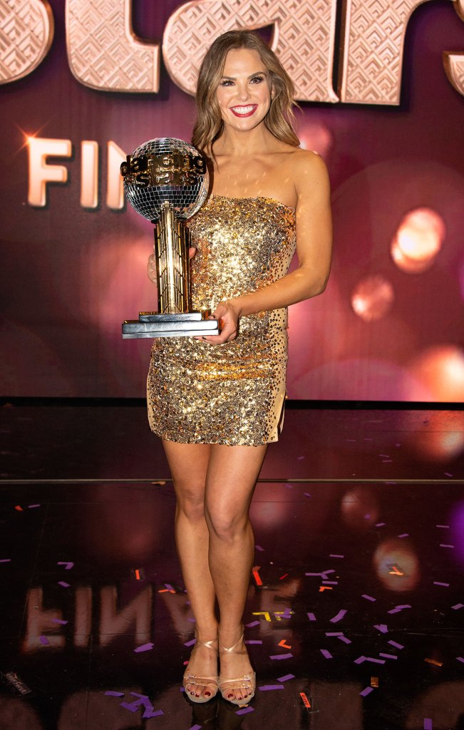 Hannah Brown Dancing With The Stars Mirror Ball Trophy
