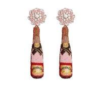 Haute Hostess Gift Guide - Mignonne Gavigan Rose Champagne Earrings