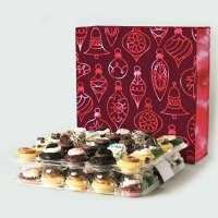 Haute Hostess Gift Guide - Baked by Melissa Merry Christmas Red 50-Pack Gift Box