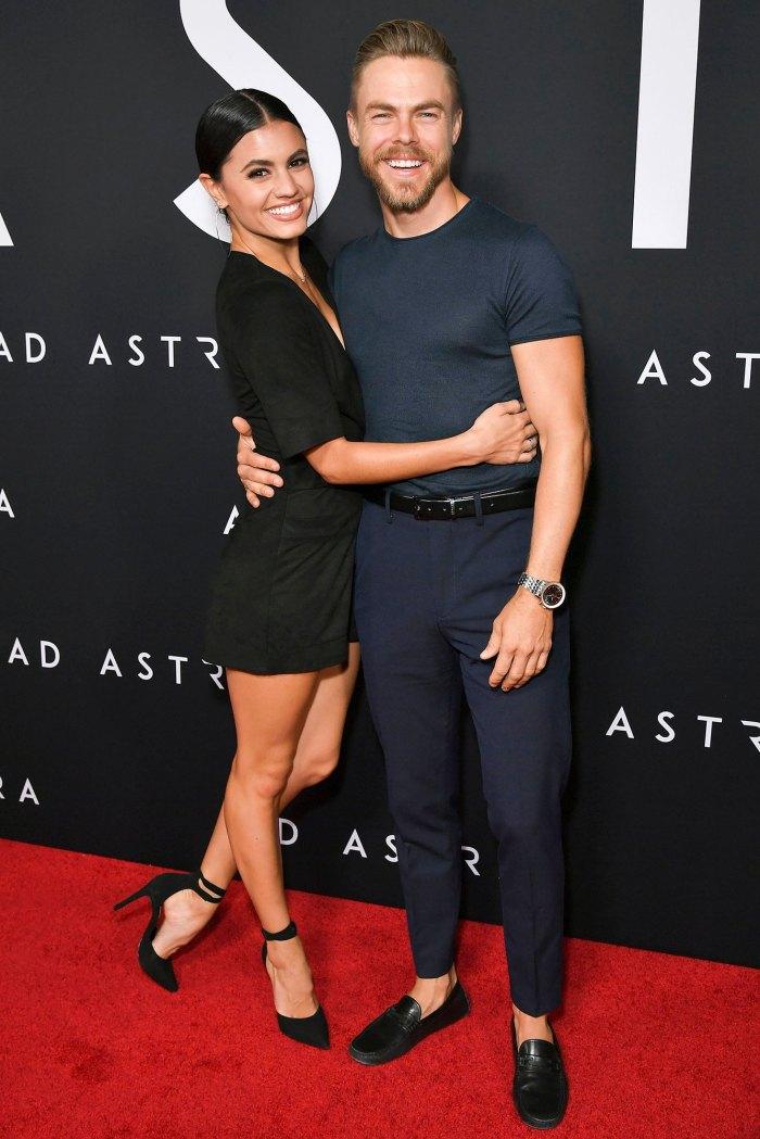 Hayley Erbert and Derek Hough Ad Astra Premiere
