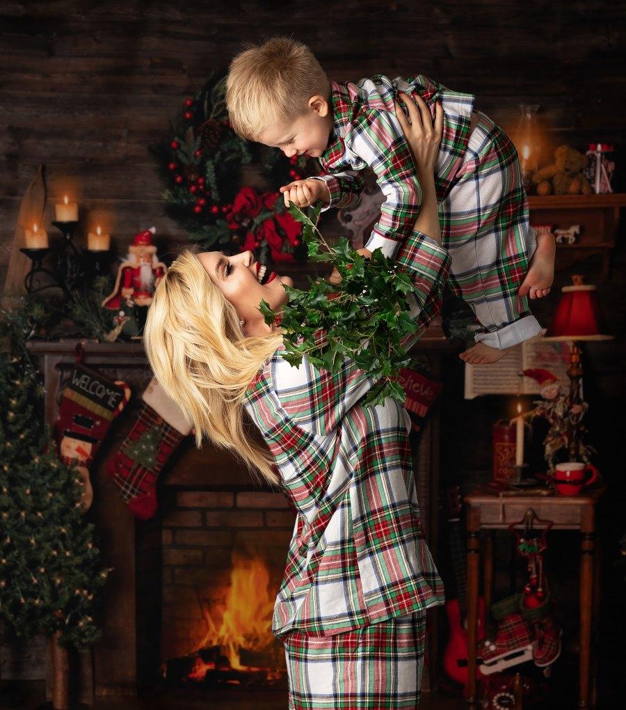 Heidi Pratt Christmas card