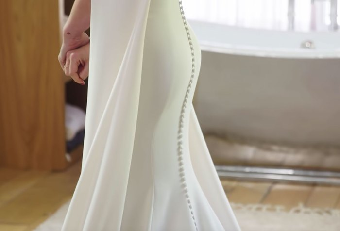 Hilary Duff's Jenny Packham Wedding Dress Vogue Video