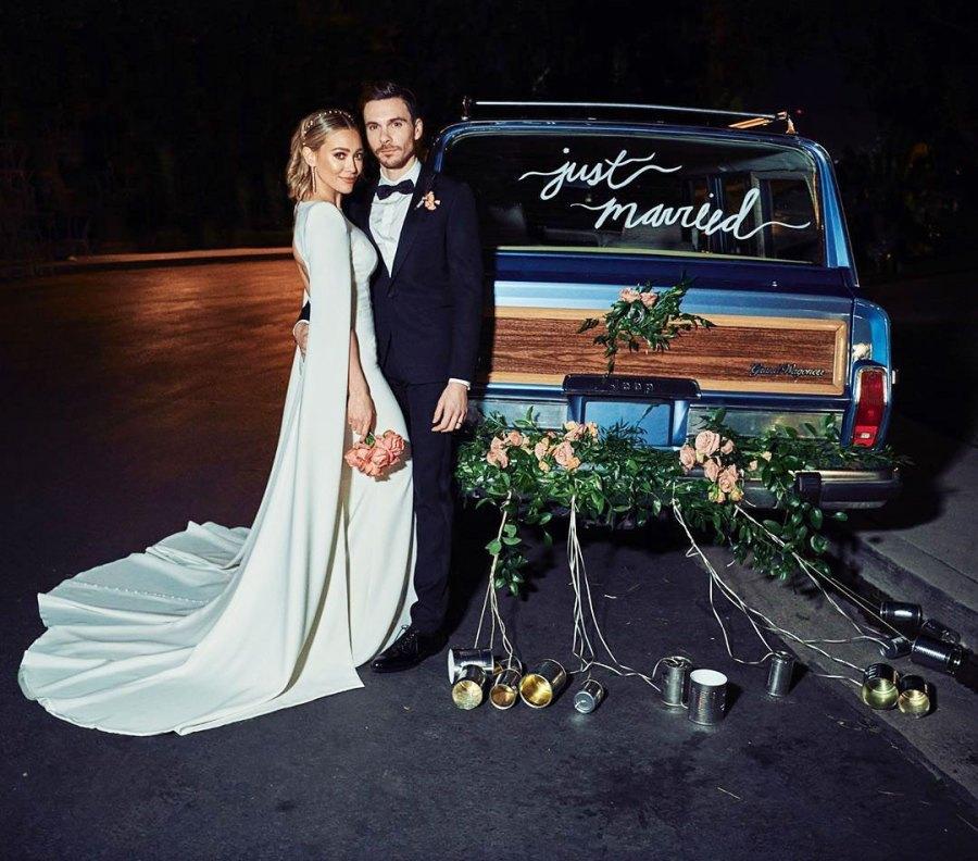 Hilary Duff and Matthew Koma Share Stunning Photos From Their Backyard Wedding