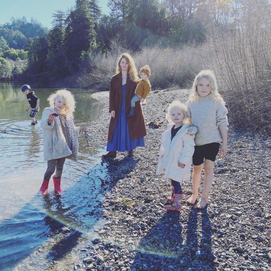 James and Kimberly Van Der Beek Take RV Christmas Trip With 5 Kids