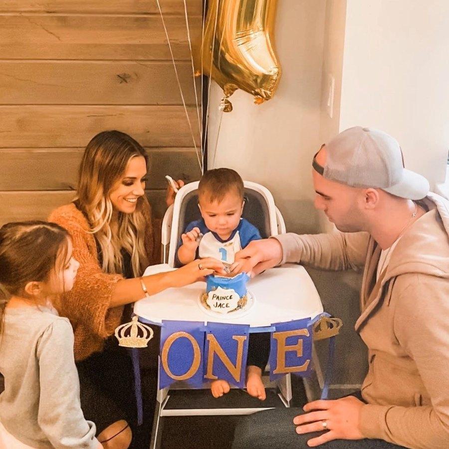 Jana Kramer and Mike Caussin Celebrate Son Jace's 1st Birthday