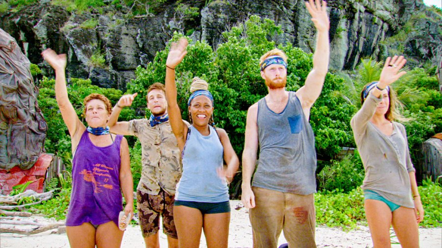 Janet Carbin, Dean Kowalski, Lauren Beck, Tommy Sheehan and Noura Salman SURVIVOR Island of Idols