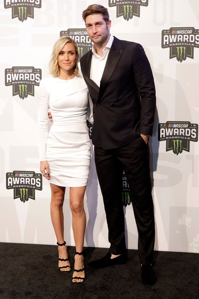 Jay Cutler and Kristin Cavallari NASCAR Cup Series Awards.jpg
