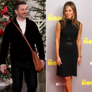 Jimmy Kimmel Dishes on Friendsgiving With Jennifer Aniston