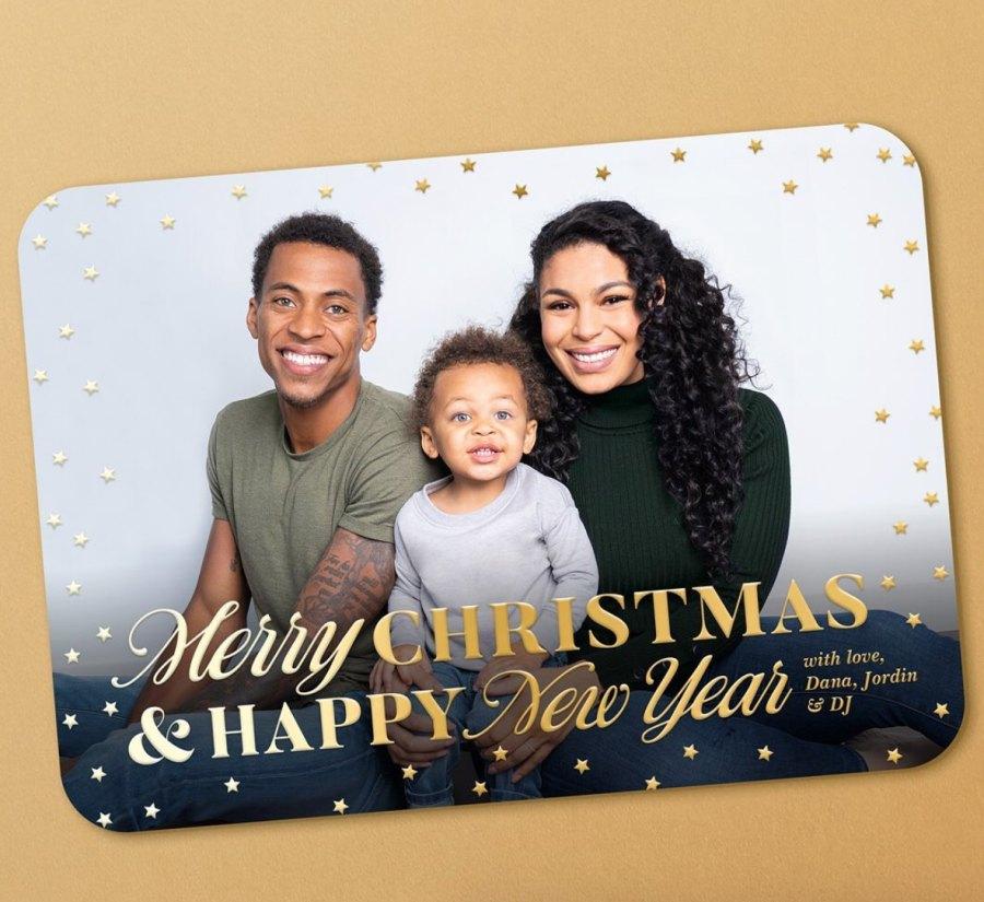 Jordin Sparks Christmas card