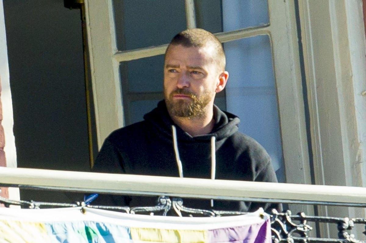 Justin Timberlake Returns To Balcony