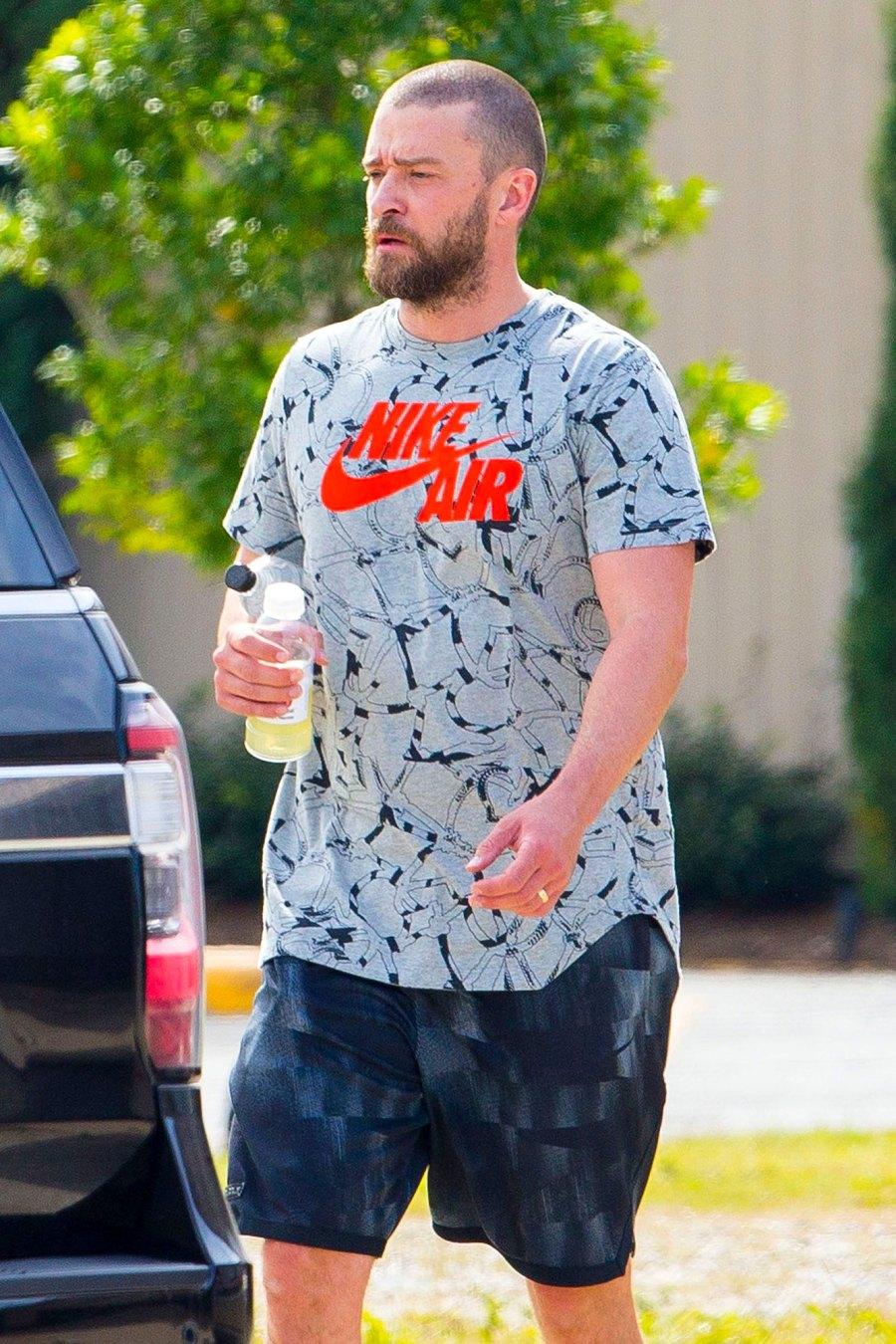 Justin Timberlake Wears Wedding Ring