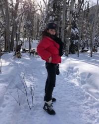 Kaitlyn Dever Instagram Celebrity Snowbunnies