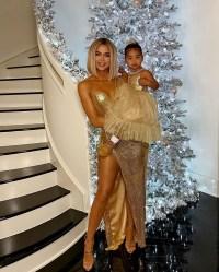 Kardashian Christmas Khloe and True